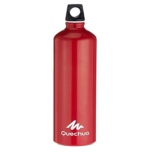 Quechua 1L Aluminium Water Bottle  available at amazon for Rs.599