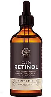 High Strength Retinol & Hyaluronic Acid Face Serum - Advanced Face Moisturiser - Cruelty Free & Vegan (B07DQKGZNS) | Amazon price tracker / tracking, Amazon price history charts, Amazon price watches, Amazon price drop alerts