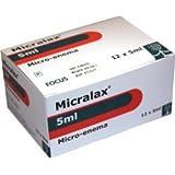 MICRALAX RECTUM ENEMA 5ml x 12