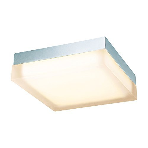 WAC Lighting FM-4012-30-CH 3000K Soft White Dice LED Flush Mount, 12, Chrome by WAC Lighting -