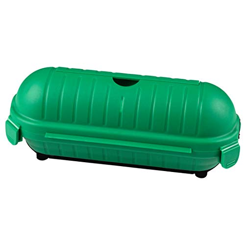 Sicherheitsbox grün Kabelbox Schutzkapsel Schutzbox für Kabel Regenschutz Schuko
