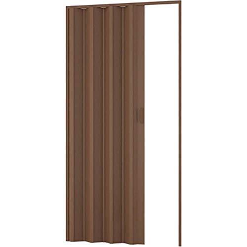 Porta a soffietto arredo per interno noce 100 x 214 cm