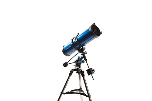 Meade Instruments Polaris 216008 - Teleskop, blauer Reflektor, 130 mm MD