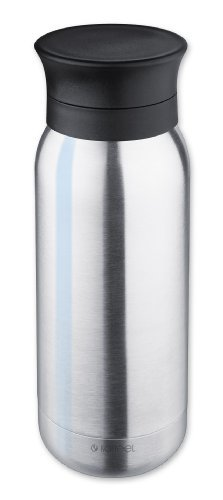 Preisvergleich Produktbild Isosteel Va-9717 0.35 Liter 12 Fluid Ounces 18 / 8 Stainless Steel Double Walled Vacuum Drink Bottle by Isosteel Germany GmbH