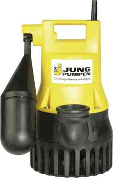 Preisvergleich Produktbild Jung Pumpen Tauchpumpe U3KS (0.32 kW, 4 m Leitung, Kabel mit Schaltautomatik), JP00206