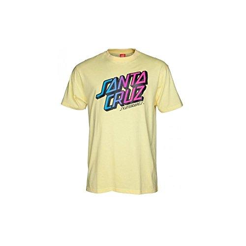T-Shirt: Stack Fade Lemon YL Gelb