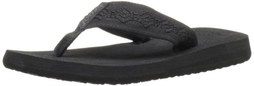 Reef Sandy, Tongs femme Noir (Black/Black)