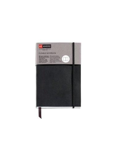 miquelrius-1425-carnet-flexible-classique-lisse-avec-caoutchouc-black-candy-colours