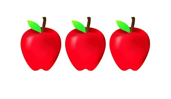 30-Pack HYGLOSS 33748 Apples Classroom Accents 7-Inch