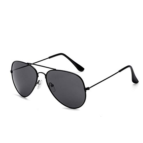 Polarisierte Outdoor-Sportbrillen BrillenSonnenbrillen Herrensonnenbrillen Zustromsonnenbrillen Driving Frog Mirror Driver SunBlack Frame graues Blatt (polarisiertes Licht)