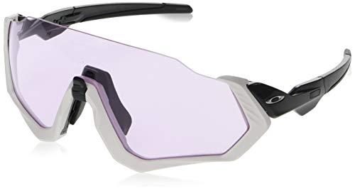 Oakley Herren Sonnenbrille Flight Jacket, Grau (Gris)