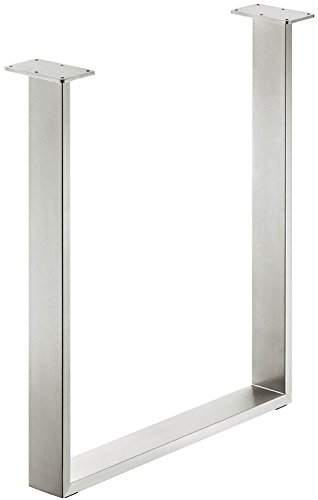 GedoTec Tischkufe Tischgestell zum Anschrauben | Tragkraft 150 kg | Höhe: 720 mm | Tischbein...