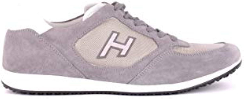 Gentiluomo Signora Hogan scarpe da ginnastica Uomo MCBI35069 Camoscio Grigio Nuovo mercato Belle arti Più pratico | Design professionale  | Uomo/Donna Scarpa