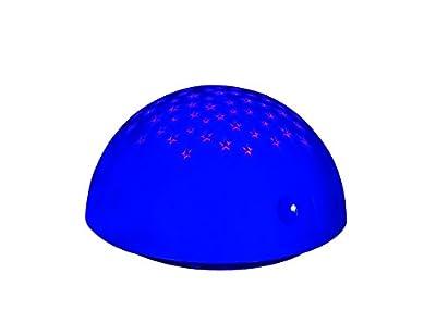 LED Nachtlicht Schlummerlicht Sterne Projektor blau R53430012