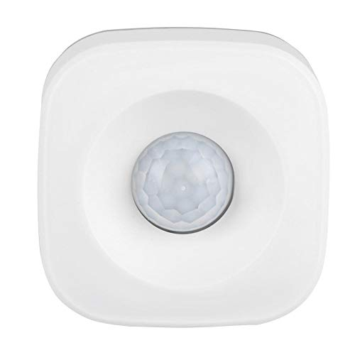 Eboxer WiFi Inteligente PIR Sensor de Detección de Movimiento de Seguridad Inalámbrica,Sensor de Alarma Antirrobo con Alerta de Emergencia Función de Inserción Mediante la App de Teléfono