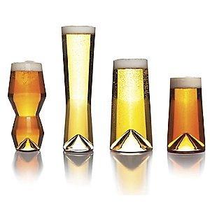 Sempli monti-taste boccali da birra, set da 4, in confezione regalo