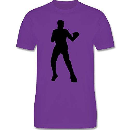 Kampfsport - Boxen - Herren Premium T-Shirt Lila