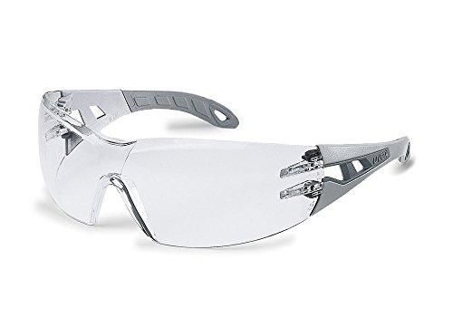 uvex Schutzbrille pheos supravision excellence klar hellgrau/grau kratzfest beschlagfrei -...