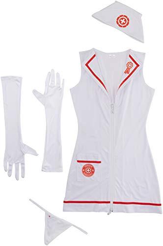 Weiblichen Kostüm Heißen - Obsessive Kostüm Krankenschwester
