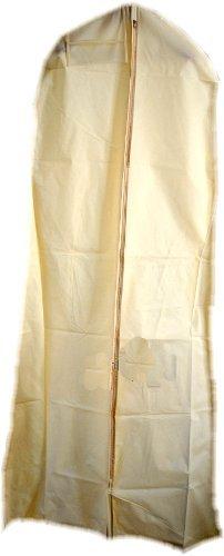 HBCOLLECTION Deluxe PP Weiß Kleidersack Kleiderhülle Schutzhülle für Brautkleid Abendkleid...