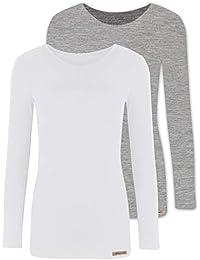 comazo Earth 2er Sparpack Damen Shirt 1 1 Arm, 1592764, Gr. 36 aa709e2e26