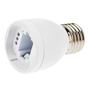 E27 à G24 Ampoules adaptateur de prise