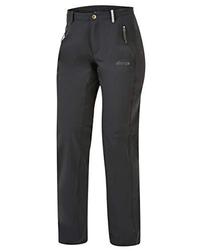 Naulo Sherpa Adventure Gear Un Pantalon Famme Gris Taille 8 UK