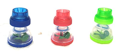 OMATM Kitchen and Bathroom Water Softner Filter Faucet Tap Shower Sprinkler Head (Multicolour) - Set of 3