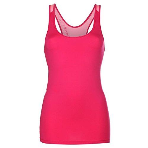 Mesdames Couche de base sans manches Débardeur d'entraînement pour Femme Multicolore - Rose