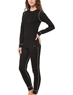 Original CFLEX Damen Ski- & Thermowäsche Set - Hemd + Hose - POLARDRY Technology - Farben und Größen S-XL wählbar...