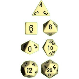 chessex-dice-polyhedral-7-die-opaque-dice-set-ivory-with-black-toy