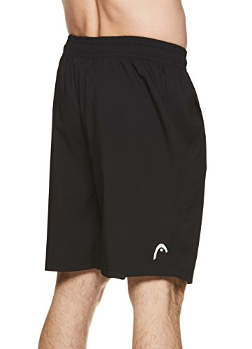 HEAD-Mens-Comfort-Zone-Mesh-Insert-Workout-Gym-Running-Shorts-wElastic-Waistband-Drawstring