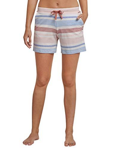 Schiesser Damen Mix & Relax Jerseyhose kurz Schlafanzughose, Rot (Terracotta 532), 46 (Herstellergröße: 046)