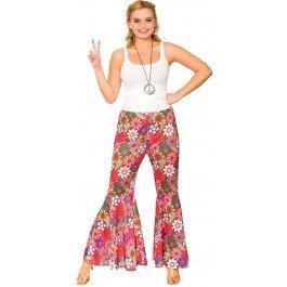 ower Hippie Pants Fancy Dress Item (Pink Lady Fancy Dress Kostüm)