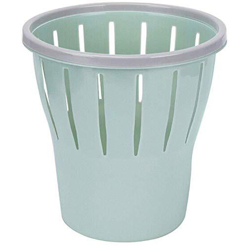 SONGDP Abfalleimer Runde Mülleimer Home Kunststoff-Papierkorb für Kommoden Papierkorb Mülleimer für Schlafzimmer Badezimmer Home und Büros Indoor Mülleimer