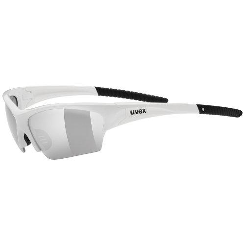Uvex Erwachsene SportSunsation Sportsonnenbrille, White Black, One Size