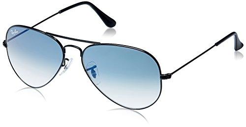 Ray Ban  Aviator Sunglasses (Black) (RB-3025-0025 3F|55)