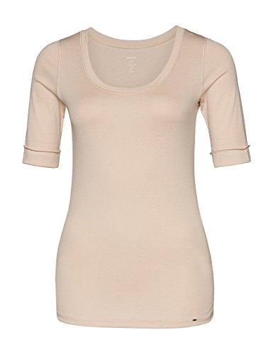 Marc Cain Essentials Marccaindament-Shirts+e4869j14, T-Shirt Femme Beige (sand 604)