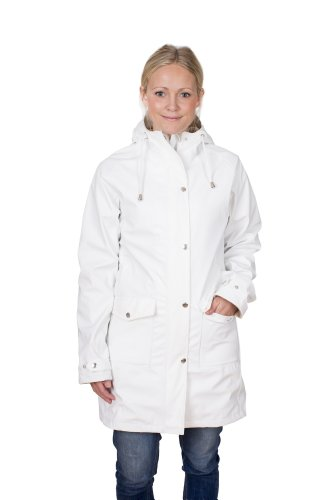 Schöffel erna tretorn long en veste imperméable pour femme Blanc - Blanc