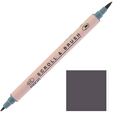 Zig Sistema Memoria desplazamiento & Cepillo Twin Tip Marker Pen