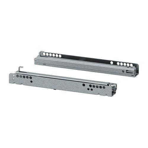 IKEA BESTA Schubladenschiene Drucksystem; 2 Stück