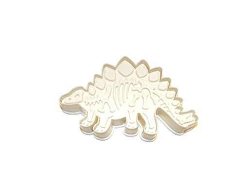 Keksausstecher und Stempel Dinosaurier (Stegosaurus)