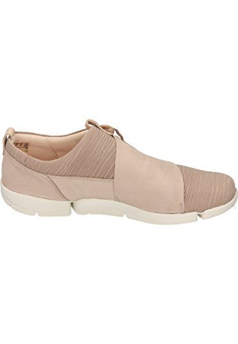 Clarks Tri Camilla, Sneakers Basses Femme Beige (Sand Combi)