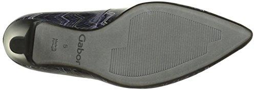 Gabor Shoes 51.284 Damen Geschlossene pumps Blau (river 96)