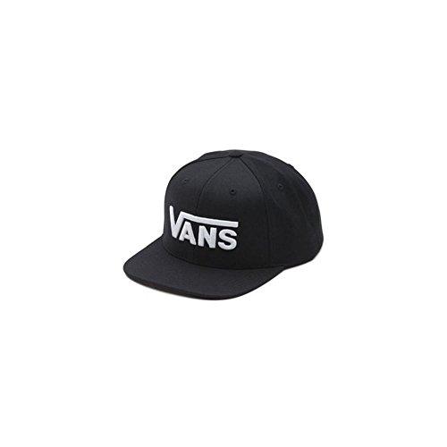 vans Drop V Snapback Hat, Berretto da Baseball Uomo, Nero (Black-White Y28), Taglia Unica