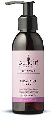 SUKIN Sensitive Cleansing Gel, 125 ml