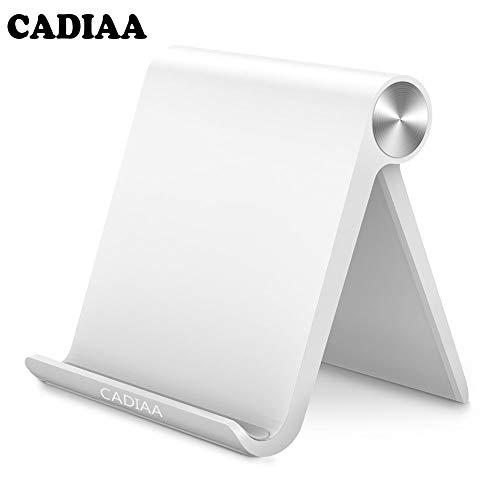 Rampow - Supporto in Alluminio per Smartphone e Tablet - Argento