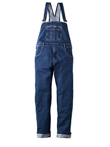 Men Plus Herren Jeans-Latzhose Blue Stone