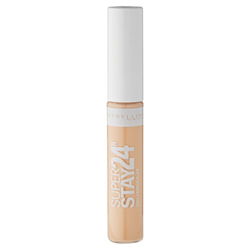 Maybelline New York Super Stay 24h Concealer Light 02/Abdeckstift in natürlichem Braun, langanhaltendes Teint-Make-Up gegen Hautunebenheiten, 1 x 7,5 ml