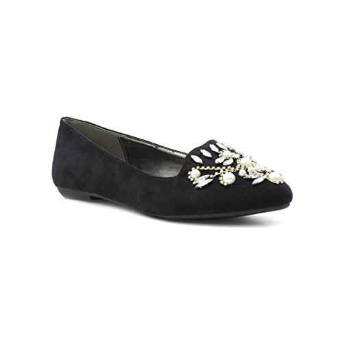 Truffle Black Nero Loafer Embellished Womens rgPwqFr